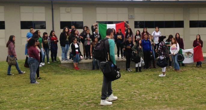 Student protest at Corcoran High School