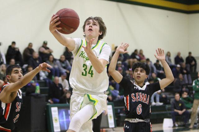 Kingsburg basketball: Jeremy Ray