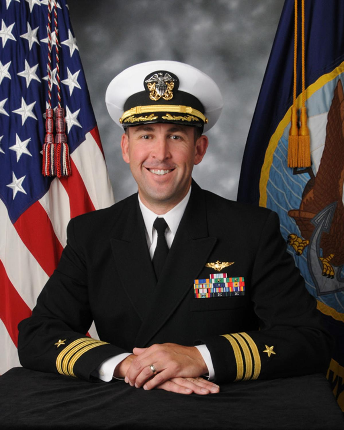Cmdr. James Kinter