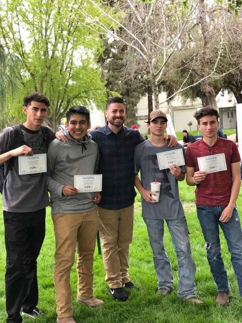 Hanford High School wood shop students place at competitions