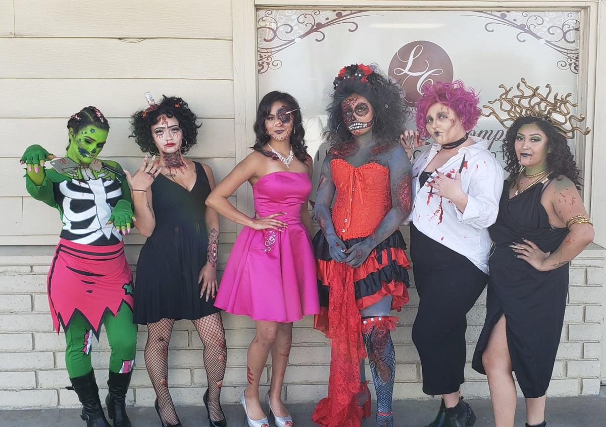 Cosmetology students get creepy for Halloween | Local ...