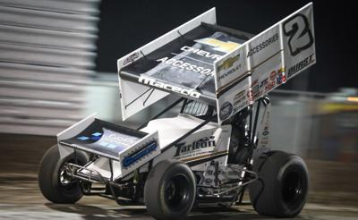 STANDING TALL: Carson Macedo wins nigh two of the Jackson Nationals