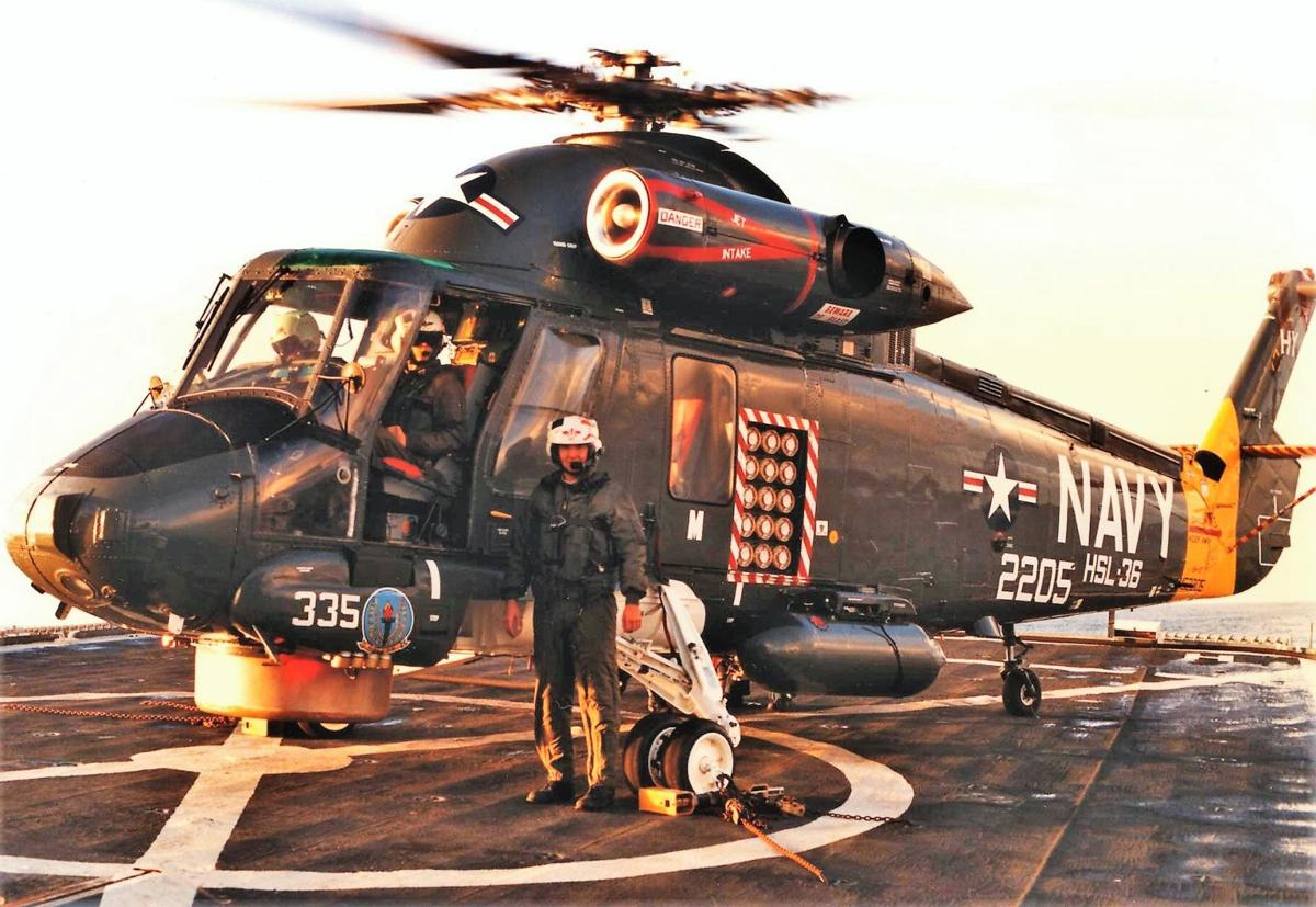 H-2 Seasprite Helicopter