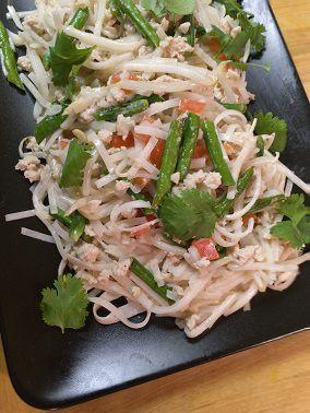 Coconut Noodle Stir-fry
