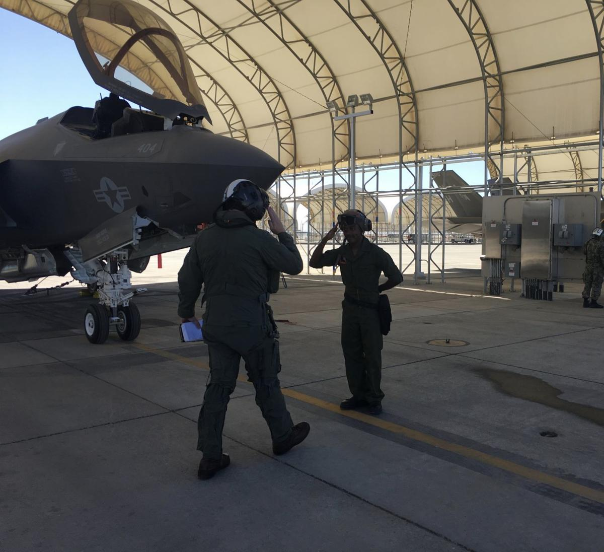 Strike Fighter Squadron (VFA) 147 'Argonauts' clear safe-for-flight operations