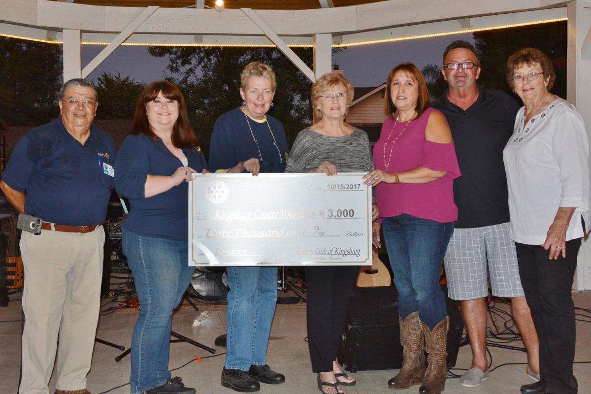 Rotary: Donates to Cancer Volunteers