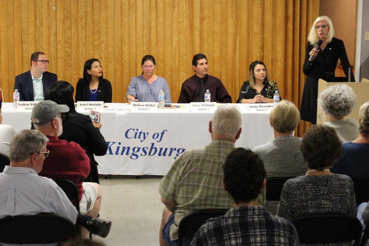 Kingsburg candidates: Smith speaks
