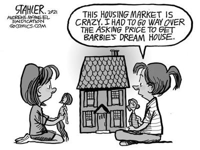 Editorial Cartoon: Housing market