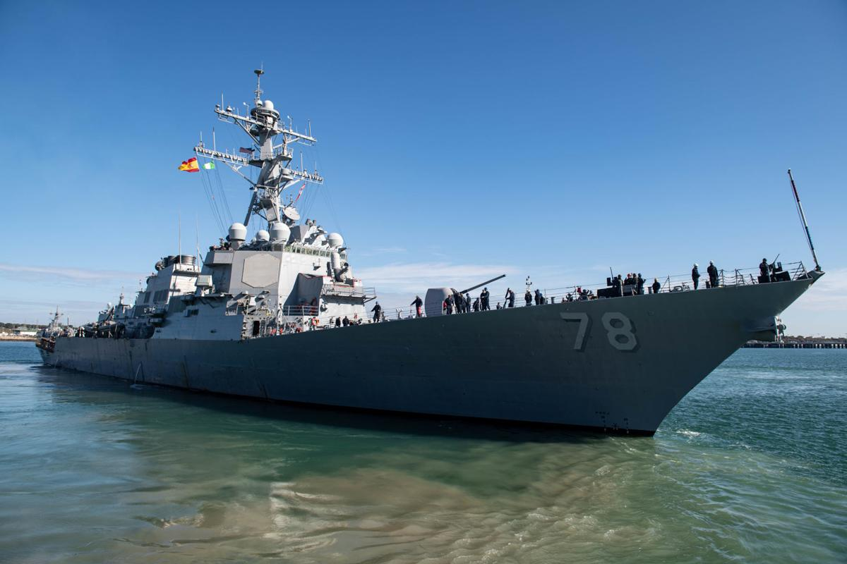 Two U.S. Destroyers Deploy as U.S. 6th Fleet Remains Vigilant