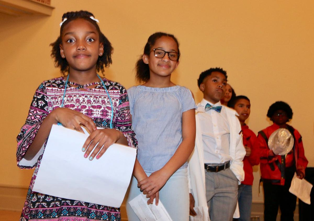 (READY) program hosted the Youth Black History Program.