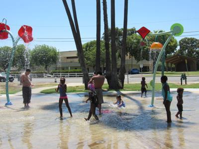 Splash Pad Coe Park