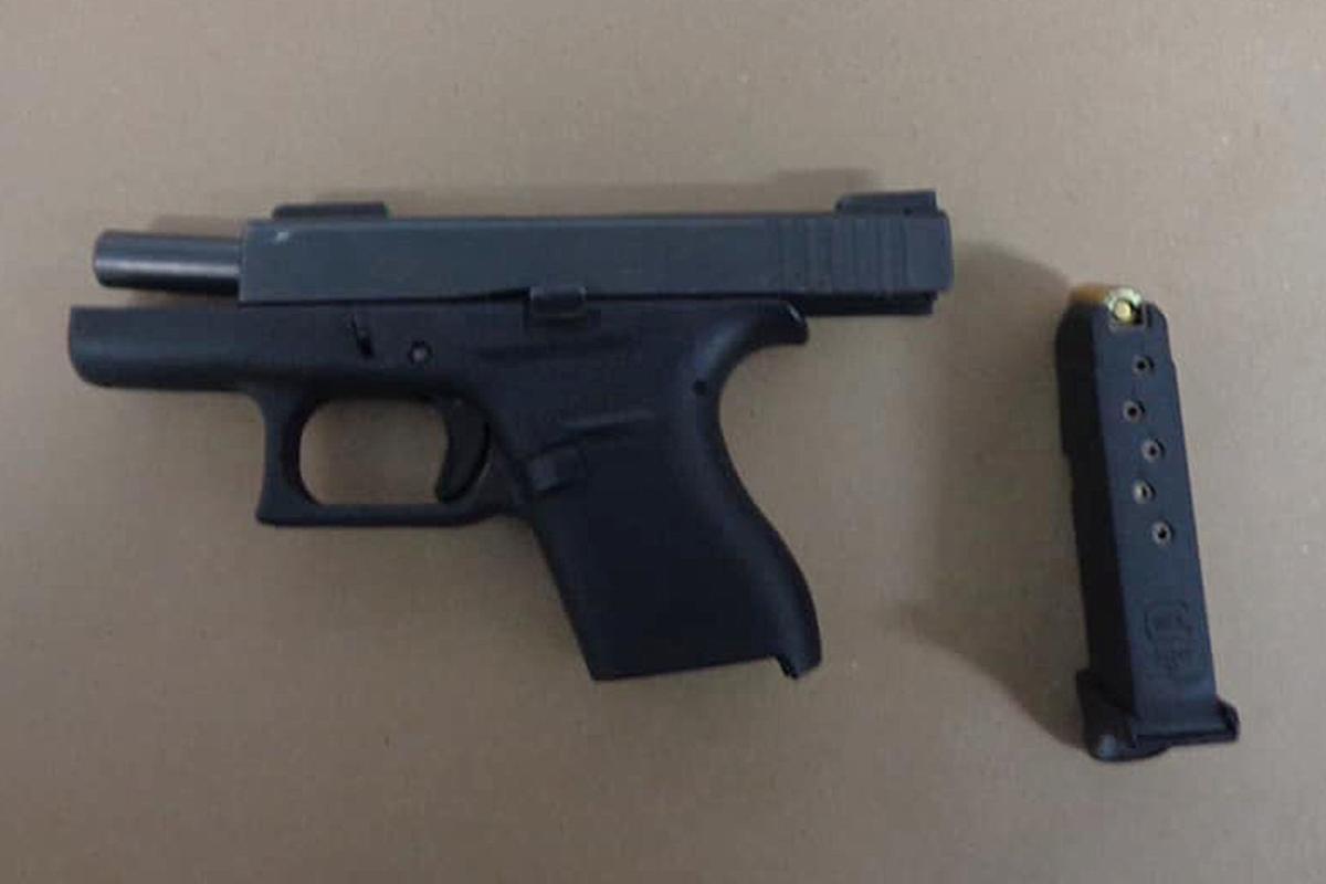 Police briefs: Glock found