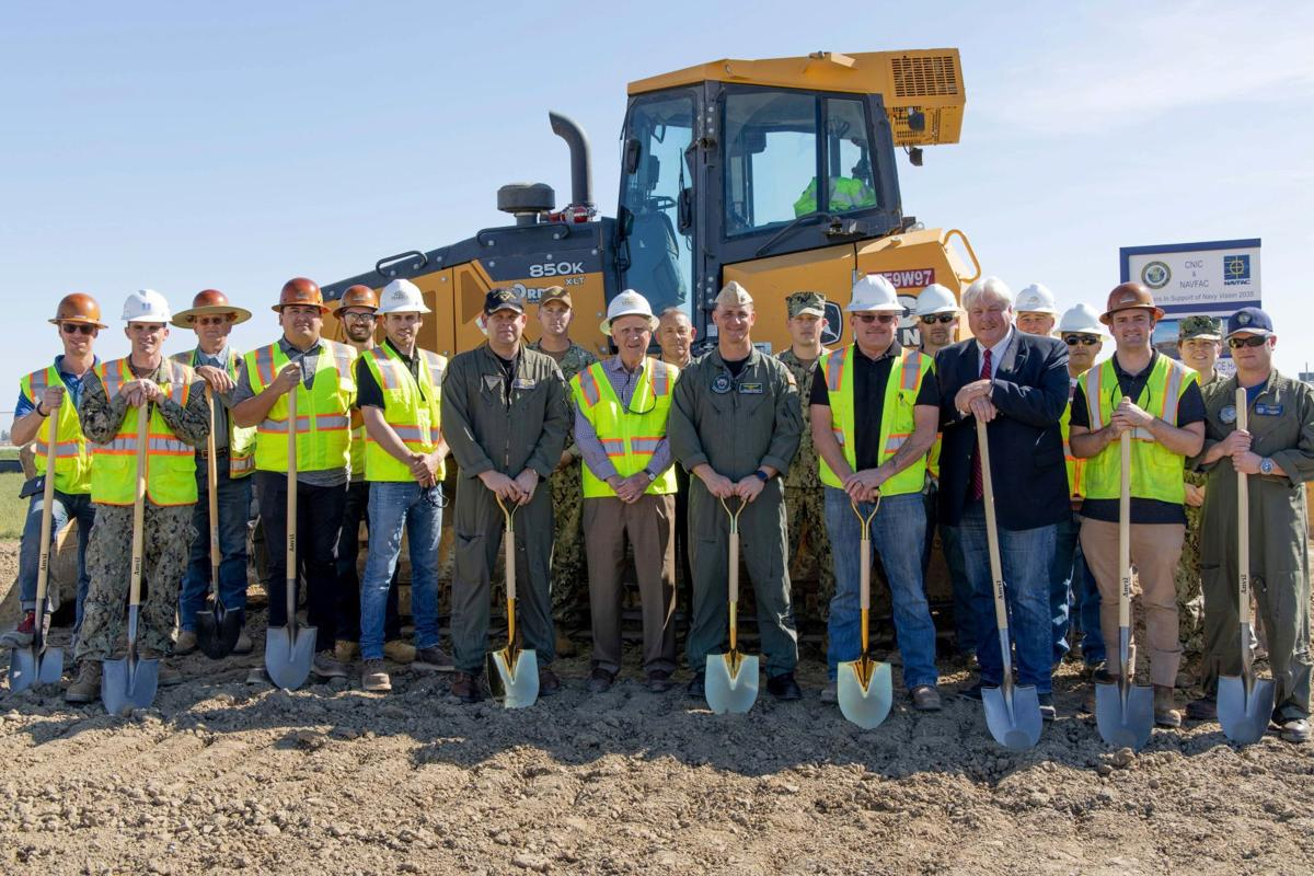 Ceremonial Groundbreaking Kicks-Off Construction of New F-35C Hangar