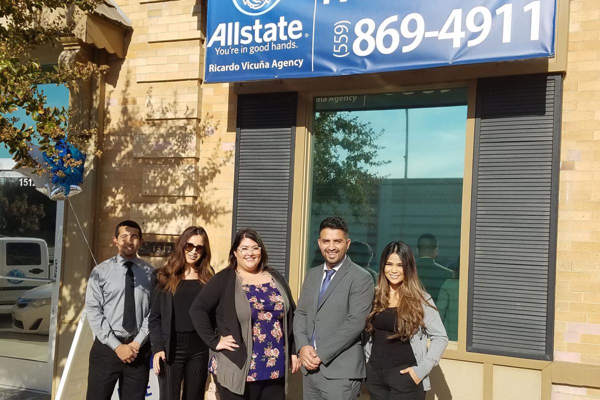 New insurance: Ricardo Vicuna and staff