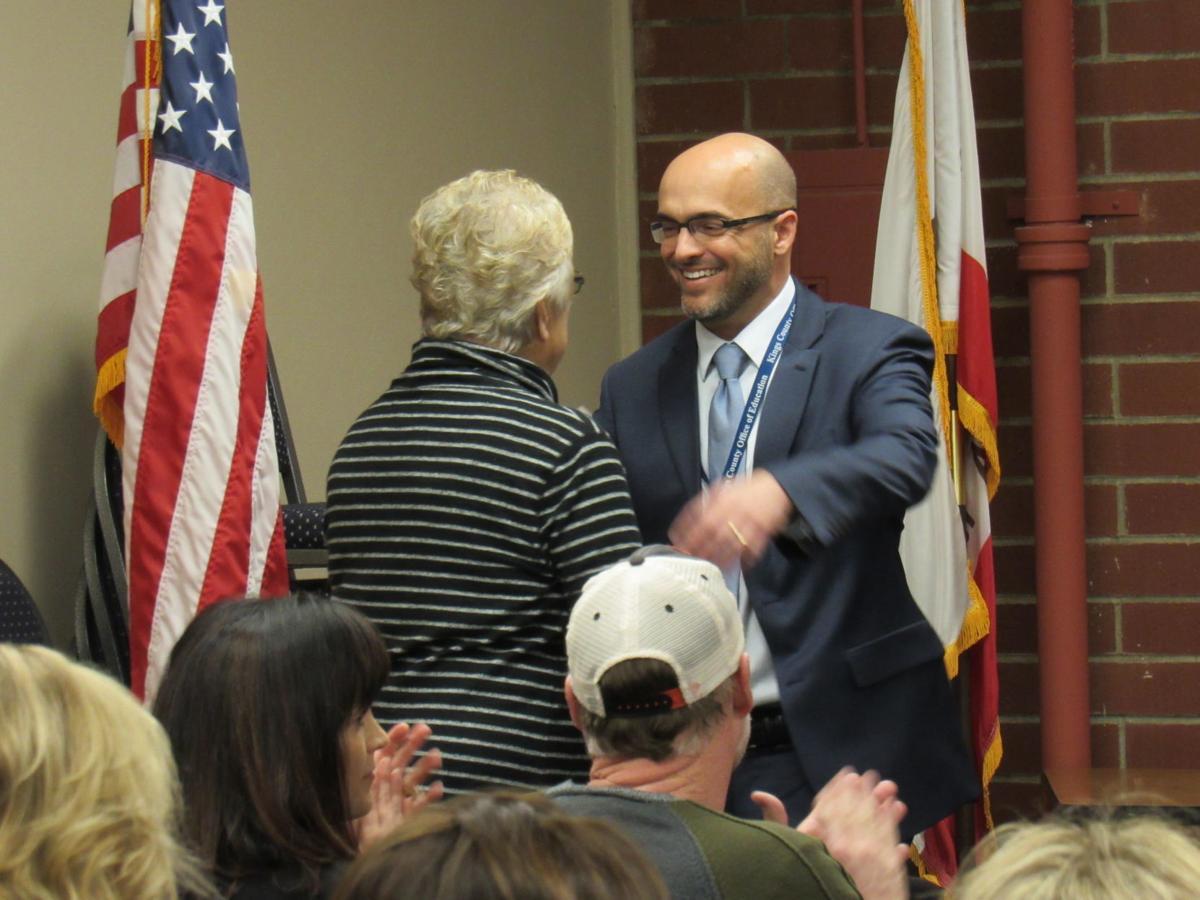Todd Barlow sworn in