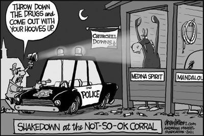 Editorial Cartoon: Not-so-OK
