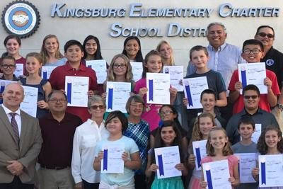 Perfect scores: KESD students
