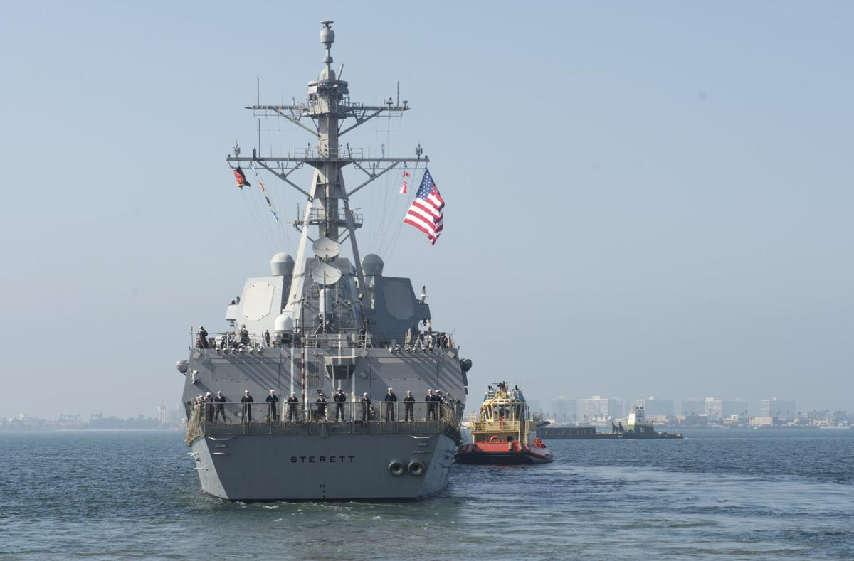 Dewey, Sterett depart San Diego for Indo-Pacific