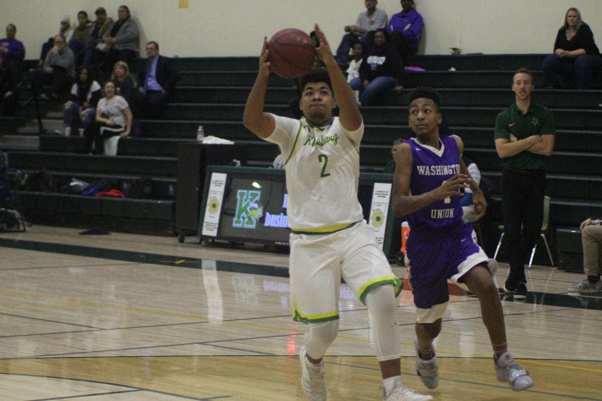 Kingsburg boys basketball: Elijah Brumfield