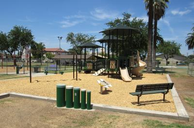 New playground for Lacey Park