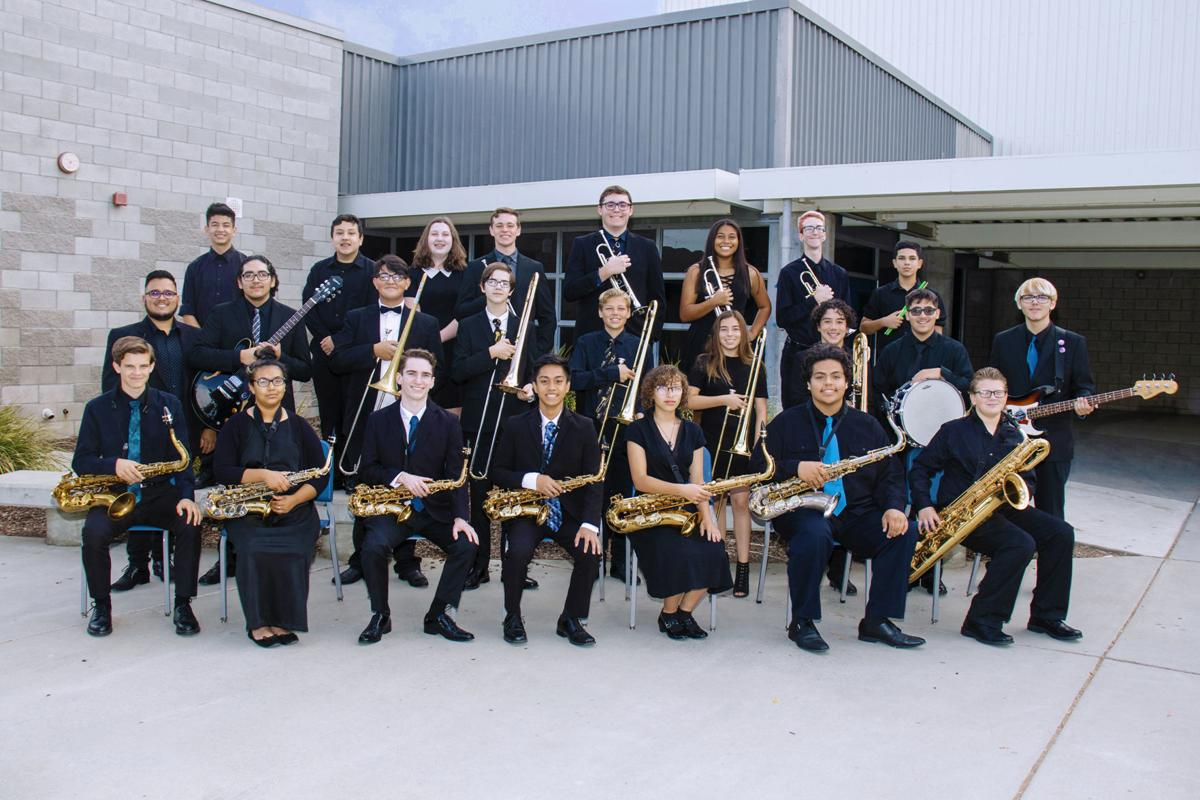 HWHS Jazz band A