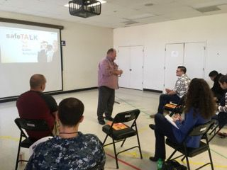 SafeTALK and ASIST: Base Chapel offers training in suicide prevention
