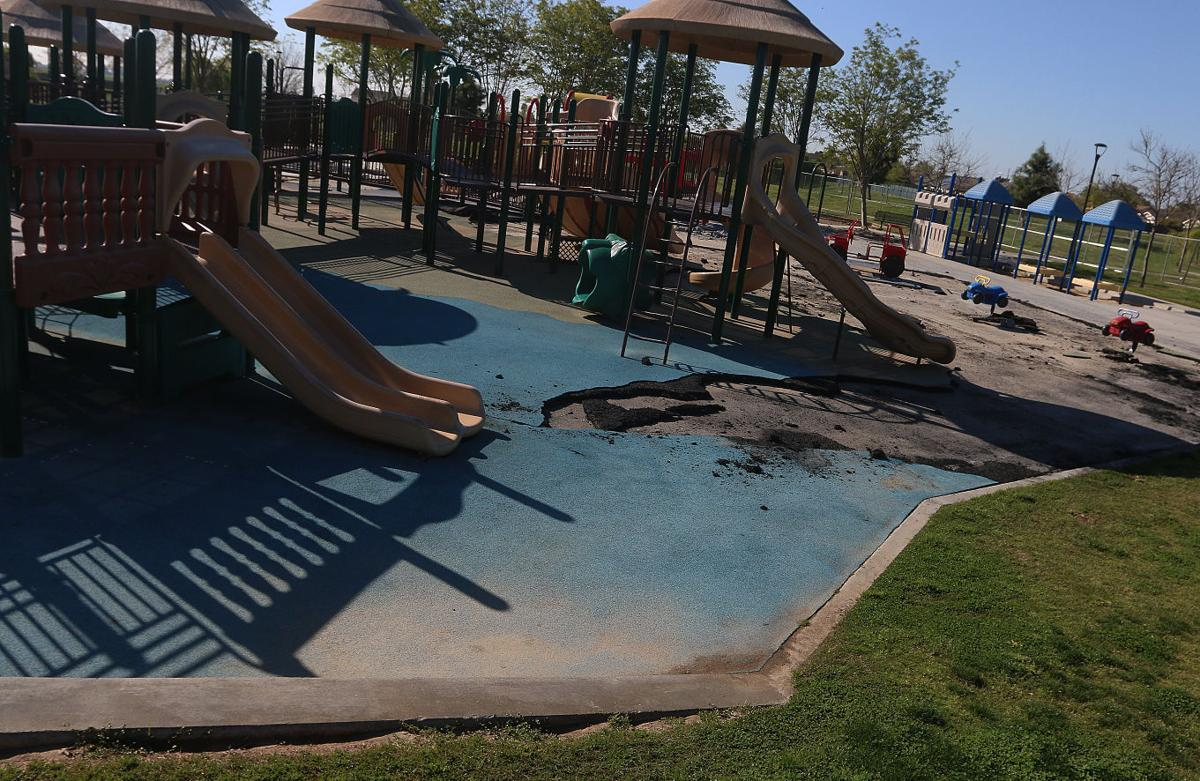Freedom Park playground renovation