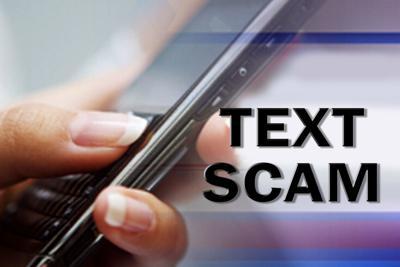 Social Services: Text scam