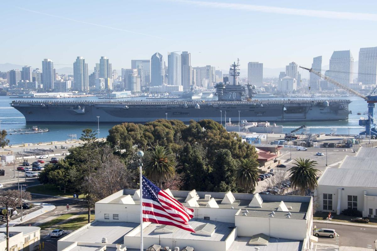 Carl Vinson Strike Group departs for deployment to Western Pacific