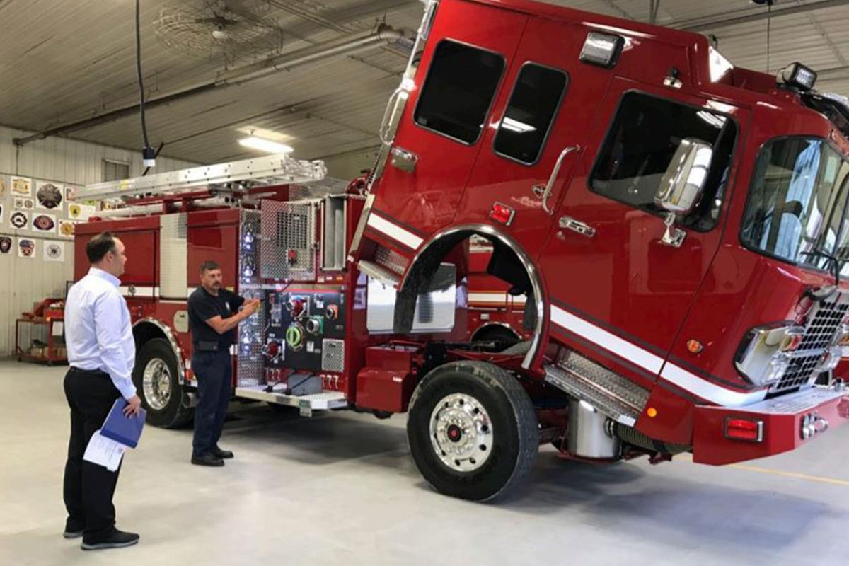 Kingsburg: New fire engine