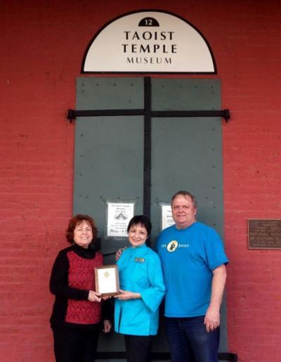 Taoist Temple Preservation Society wins 2014 Humanitarian Award