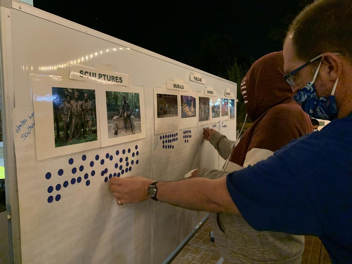 Community members design their 'dream park'