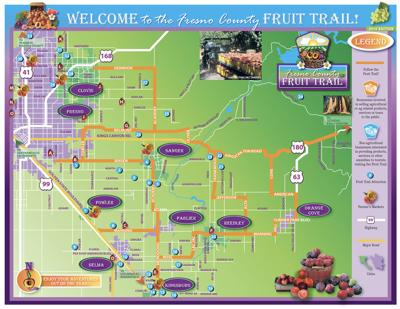 Fruit Trail: Map