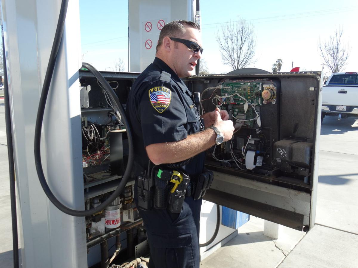 Lemoore PD gas station inspections