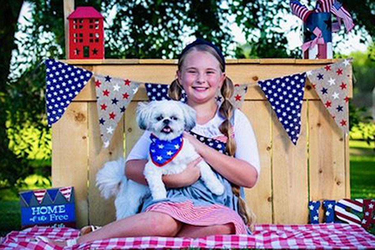 Family fun: Shaylean and Max