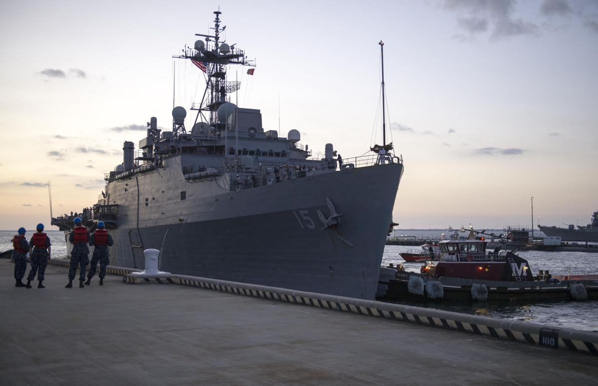 USS Ponce decommissioned after 46 years of service