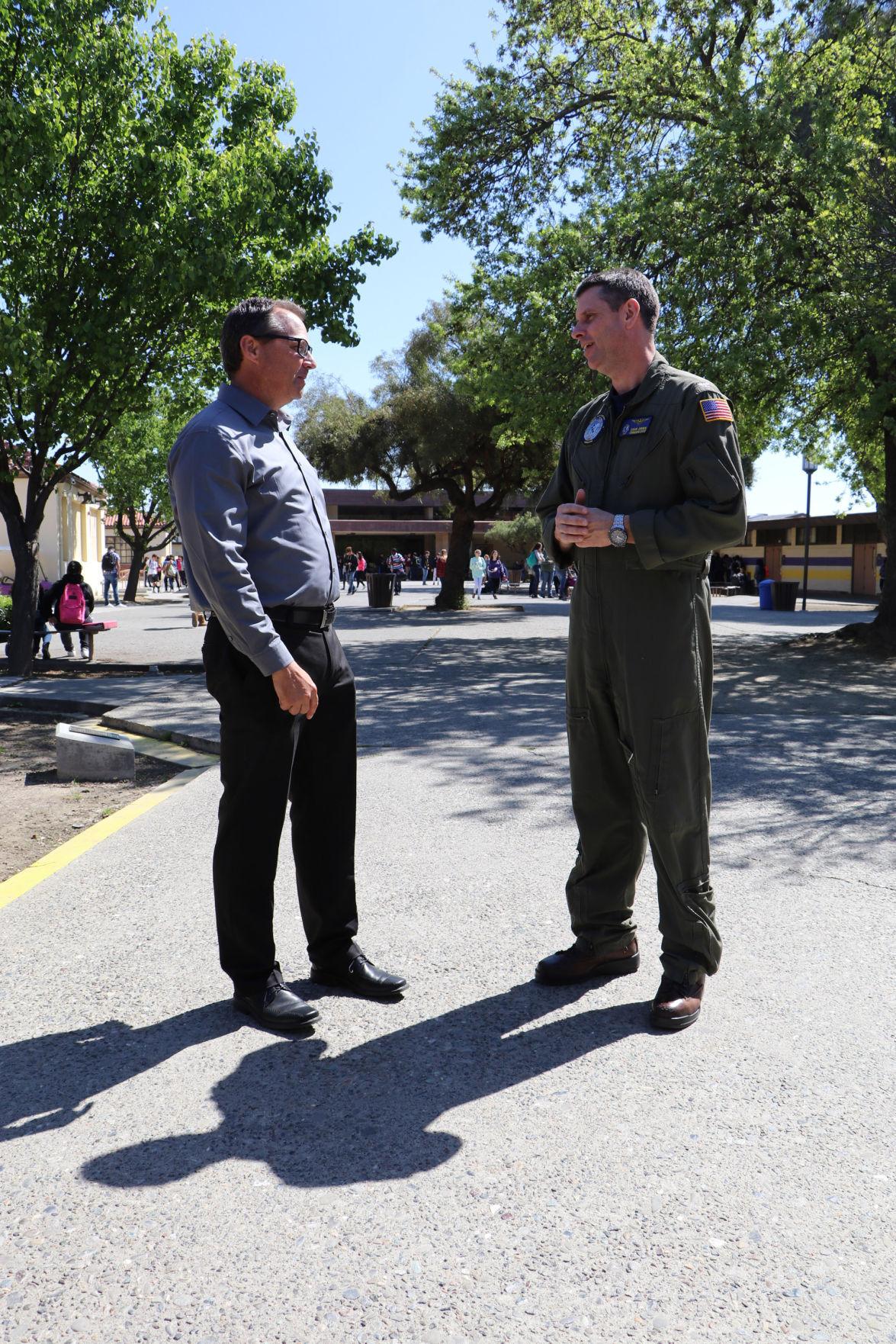 Principal for a day: Program joins NASL leadership with Lemoore schools