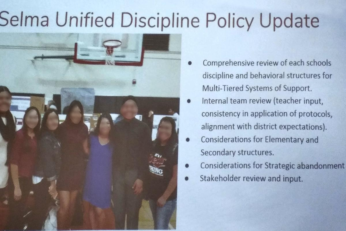 SUSD vows: Discipline to be updated