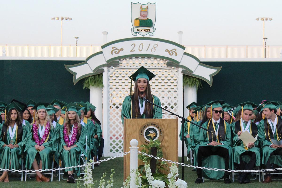 Kingsburg High: Speakers