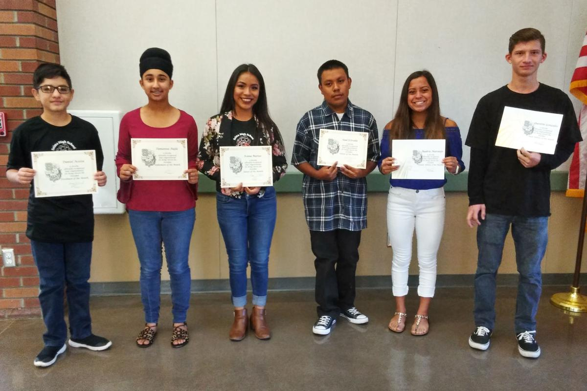 Selma High: October students, athletes