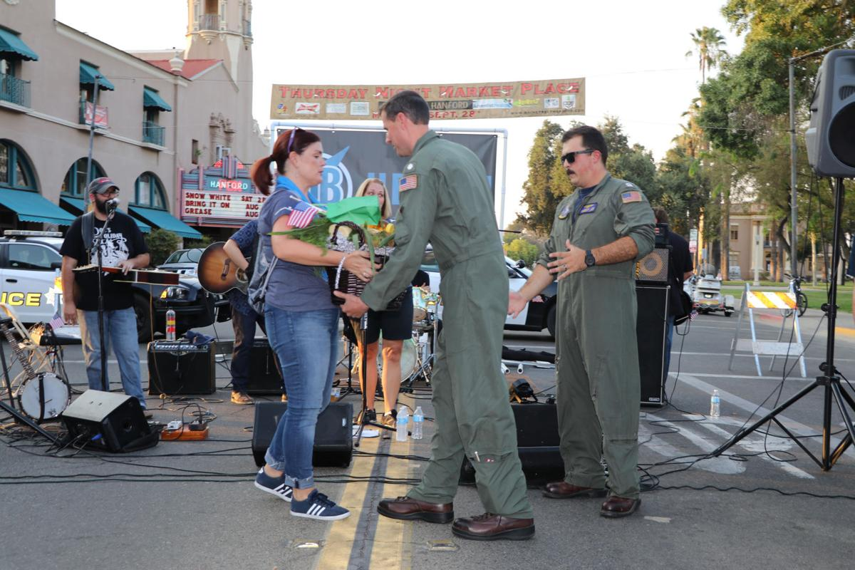 VFA-97 'Warhawks' participate in Hanford's Thursday Night Market Place