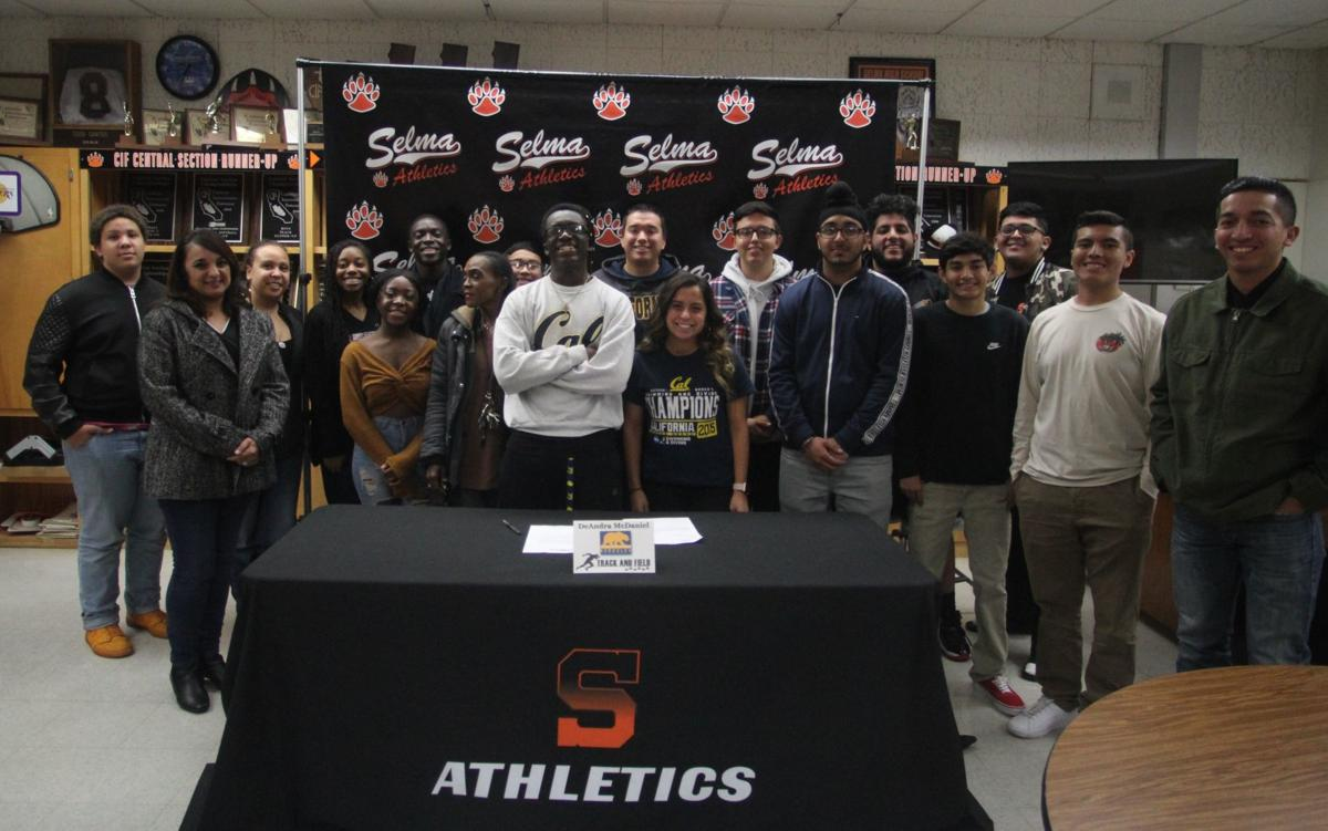 DeAndra McDaniel signs with Cal