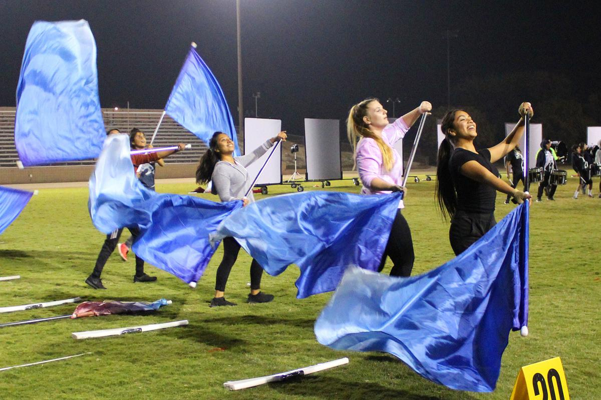 Marching: Color Guard