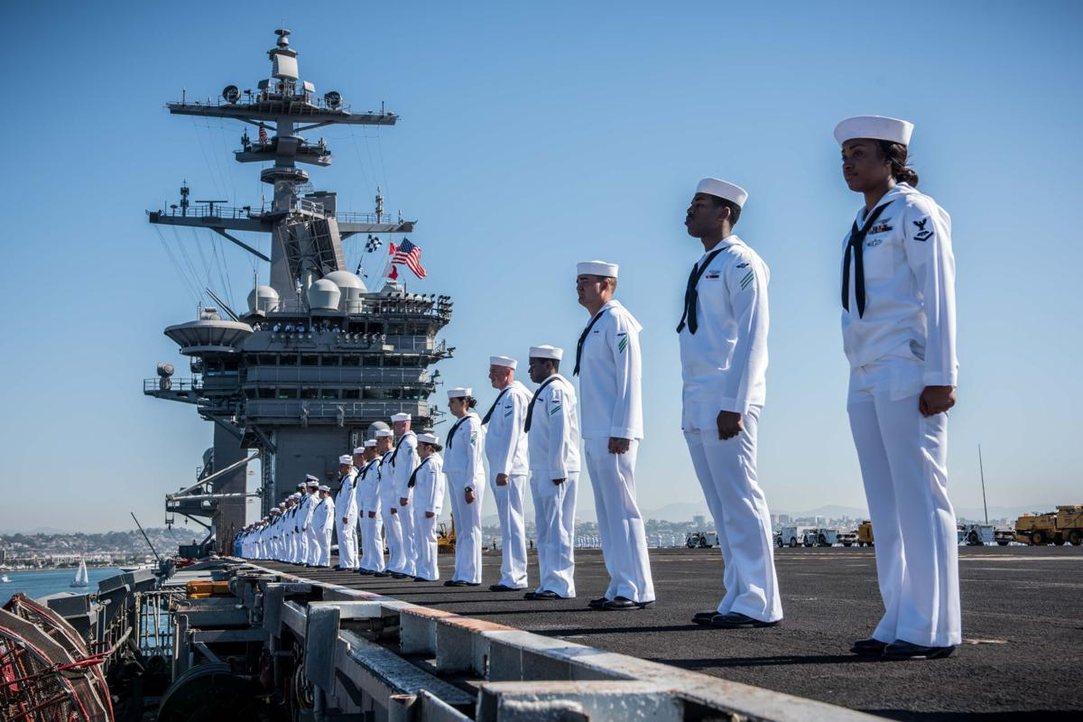 Theodore Roosevelt CSG departs for deployment