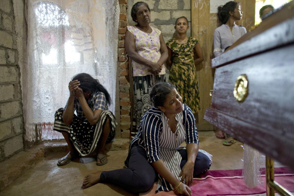 APTOPIX Sri Lanka Church Blasts