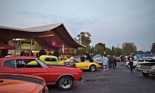 White Top Restaurant Hosts Annual Super Car Show Local - Local classic car shows