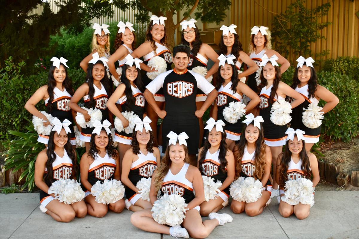 Cheer squad: Attended camp