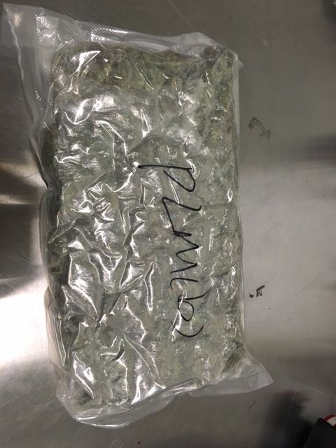 Vacuum Sealed Bag Of Pot