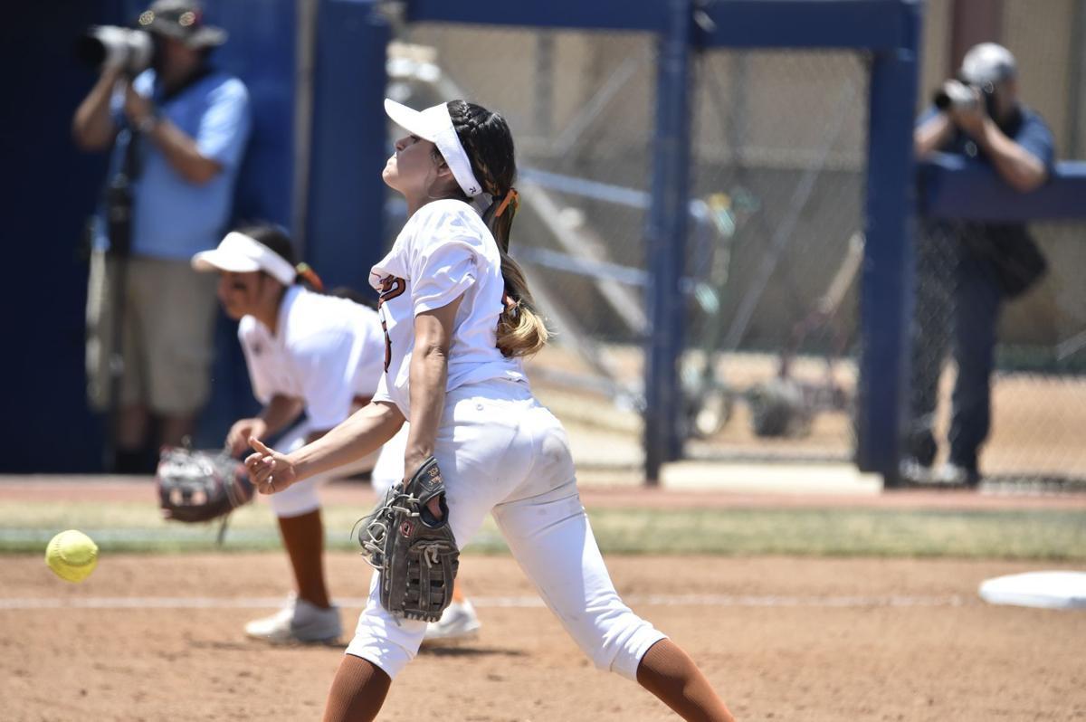 Selma softball: Hailey Garcia