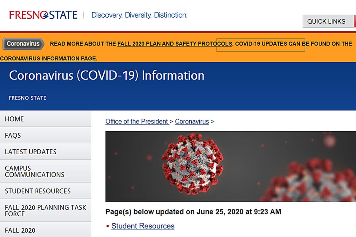 Fresno State: COVID updates